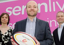 Serenliving raise a glass to Newport Gwent Dragons sponsorship deal…